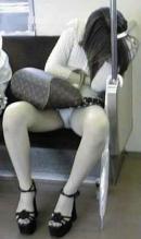Adormita in tren