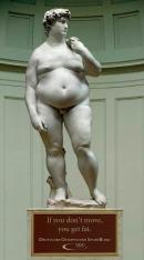 Ce s-a intamplat cu statuia lui Michelangelo