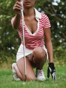 Jucatoarea de golf care ne-a distras atentia