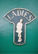 Semn expresiv pentru toaleta femeilor