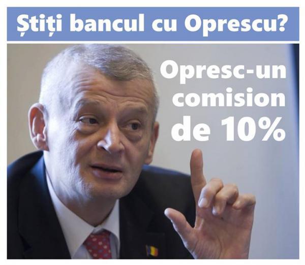Bancul cu Oprescu