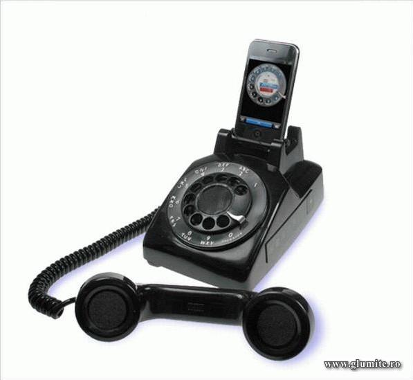 Iphone pentru strabunica