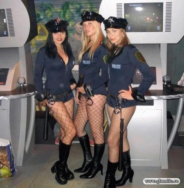 Cea mai sexy patrula de Politie