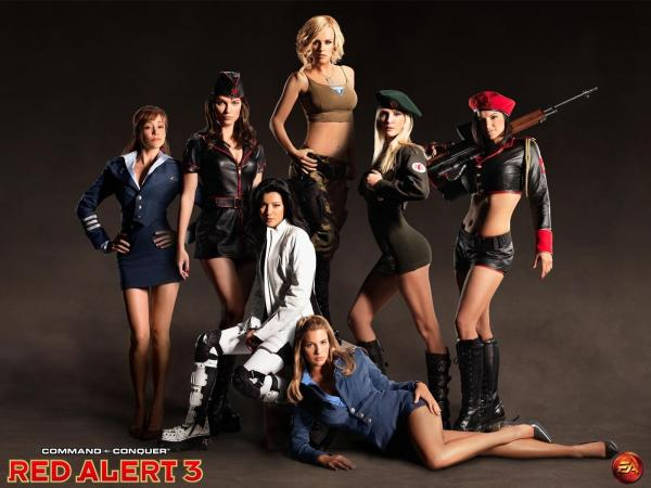 Red Alert 3 Command and Conquer Babes
