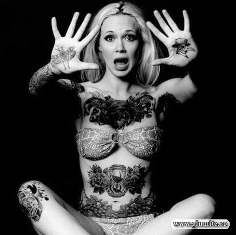 Tatuata in palme