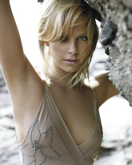 Charlize Theron- a verry beautiful woman