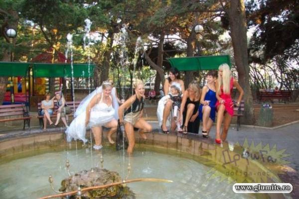 O nunta incinsa tare