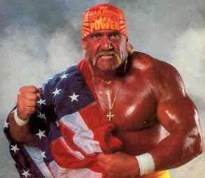 Hulk Hogan - un pachet de muschi fioros