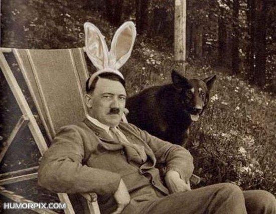 Adolf Hitler iepuras Playboy