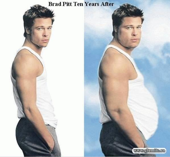 Brad Pitt peste 10 ani