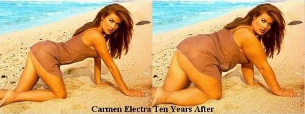 Carmen Electra peste 10 ani